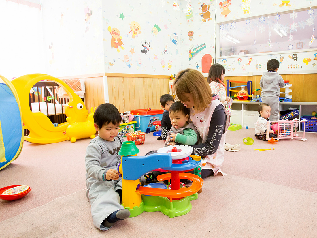 託児所完備のキッズパーク